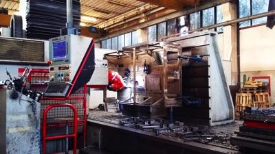 Lavorazione di carpenterie in acciaio inox