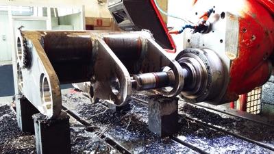 Lavorazione di carpenterie ferrose