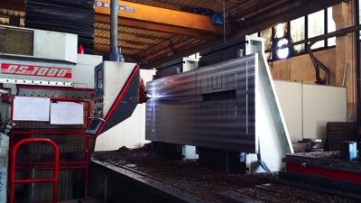 Lavorazione di piastre - Squadratura blocchi fino a 10 tonnellate
